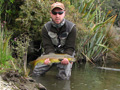 West coast brown trout fishing