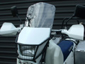 windshield and light grill for a DRZ 250